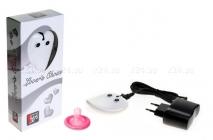 Вибромассажер с зарядным устройством Lover\'s Choice белый