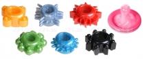 Набор цветных эрекционных колец Toyfa