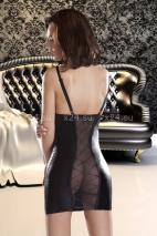 Платье ETNA с прозрачной спинкой и шнуровкой SM