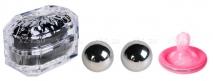 Маленькие металлические шарики в шкатулке Ben Wa Ball