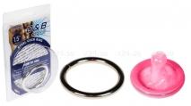 Стальное эрекционное кольцо Steel Cock Ring 1,5''