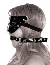Лакированный комплект Masquerade Mask & Ball Gag