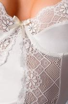 Кремовый корсаж Blanchet corset 3XL