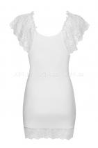 Белая сорочка с кружевом Imperia Chemise SM