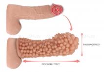 Стимулирующая насадка на пенис KOKOS с пупырышками