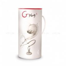 Анальная пробка с вибрацией на подзарядке G Plug (6 режимов)