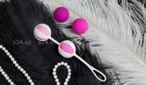 Вагинальные шарики разного веса Geisha Balls 2 (4 шарика)