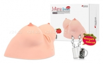 Женская грудь с вагиной Juliana Breast (с ротацией и вибрацией)