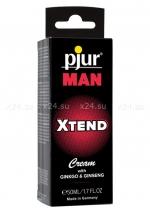 Мужской крем с экстрактом гингко и женьшеня PJUR Man Xtend (50 ml)
