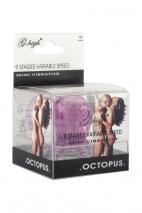 Вибро-осьминожка White Label Octopus (1 режим вибрации) пурпурный