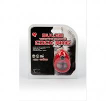Эрекционное кольцо с вибропулей Bulge Vibrating Silicone Cock Ring (3 скорости, 6 режимов)
