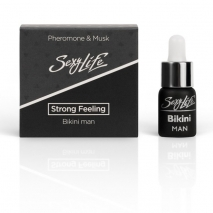 Концентрат духов с феромонами и мускусом для зоны бикини для мужчин Strong Feeling 5 мл