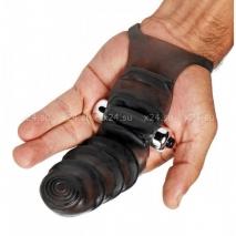 Насадка с вибрацией на руку Master Series для стимуляции точки G