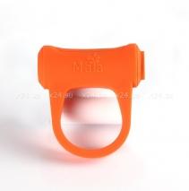 Перезаряжаемое эрекционное вибро-кольцо из серии MAIA MAN ADAM (8 режимов)