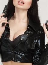 Костюм строгой полицейской (куртка и брюки)