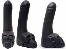 Крупный фаллоимитатор Mister B Keepburning Cock Skull Dildo