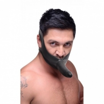 Кляп-страпон на лицо Face Fuk Face Strap-On