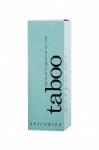 Туалетная вода с афродизиаками RUF Taboo Epicurien для мужчин, 50 мл