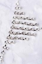 Трусики белые со стразами Joli Belinda, OneSize