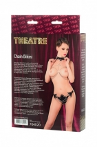 Кожаное бикини с цепями Theatre