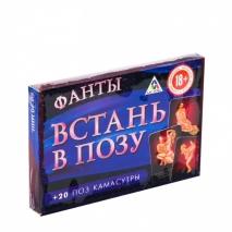 Игра для компании ВСТАНЬ В ПОЗУ (20 карточек)