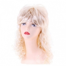 Блондинистый парик с кудрями