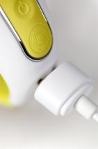 Желтый перезаряжаемый вибратор для G-точки Yummy Sunshine (12 режимов, 2 мотора)