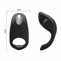 Эрекционное перезаряжаемое кольцо с вибрацией GEMMA (7 режимов)
