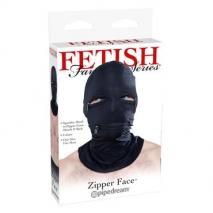 Эластичный шлем с молниями Zipper Face
