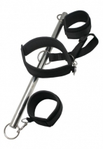 Распорка наручники+ошейник Bondage Bar With Collar and Leash