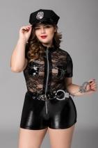Костюм полицейской CANDY GIRL PORSCHE XXL (3 предмета)