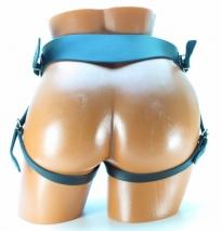 Кожаные страпон-трусики для гигантского фаллоса XL BDSM Арсенал