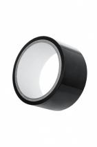 Черный бондажный скотч для тела Bondage Tape (15 м)