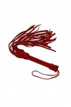 Красная плетка из натуральной замши X-Desire