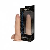 Реалистичный фаллос на присоске Джага Джага (19 см)