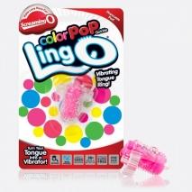 Вибро-кольцо на язык для оральных ласк ColorPop Ling O