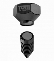 Магнитные зажимы на соски саморез Tom of Finland Screw U II Magnetic Nipple Clamps