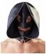 Маска-шлем с ошейником и молнией для полной сенсорной депривации Double Mask by fetish collection0