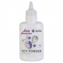 Ароматизированная пудра для игрушек Love Protection Лесные ягоды (30 гр)