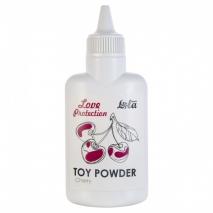 Ароматизированная пудра для игрушек Love Protection Вишня (30 гр)