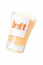 Массажная свеча для поцелуев INTT Peach с ароматом персика (30 мл)