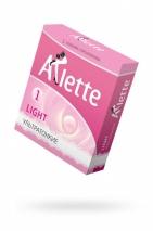 Презервативы Arlette Light ультратонкие № 1 (3 шт)
