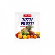 Оральный гель Tutti-Frutti со вкусом тропических фруктов (5 шт по 4 г)