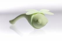 Мощное вибро-яйцо с подогревом в виде стрекозы Liebelulla (8 режимов)