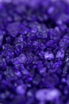 Ароматизированная соль для ванны с лепестками и афродизиаками (черная смородина) 200 г