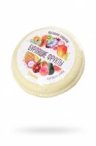 Бомбочка для ванны Бурлящие фрукты с ароматом экзотических фруктов (70 г)