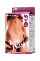 Мастурбатор реалистичный TOYFA Juicy Pussy Mature (45 летняя)
