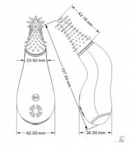 Вращающийся стимулятор ануса с усиками Candice (3 скорости, 6 режимов)