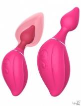 Анально-вагинальный вибратор с автоматическим расширением Daphne (7 режимов)