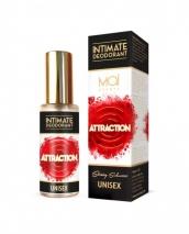 Интимный дезодорант Unisex Attraction, 30 мл